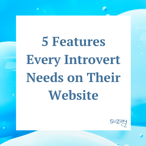 5 features for your website