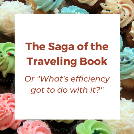 Saga of the traveling book