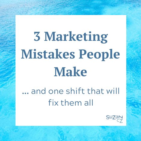 Marketing mistakes people make and how to fix them